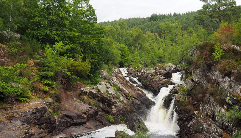 Rogie Falls, Cromarty, Fairy Glen Falls y Inverness